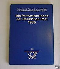 DDR JAHRBUCH 1985 postfrisch ** komplett einwandfrei u9001