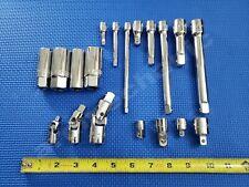 NEW Craftsman 19pc Accessory Set extension bar,adapter,u-joint,spark plug socket
