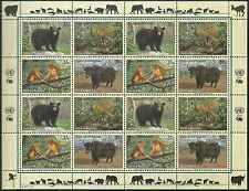 Timbres Animaux Nations Unies New York F 927/30 ** année 2004 lot 4158