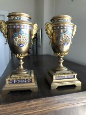 Pair Of 19th Century French Guilt Bronze.