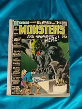 DC SPECIAL # 11, April 1971, The MONSTERS ARE HERE!  GOOD PLUS Condition