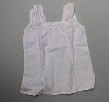Antiker Mädchen Unterrock Unterhemd mit Stickereien