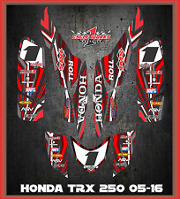 TRX 250ex  graphics Honda 250 ex 06-up  ATV sticker kit  Service lightning