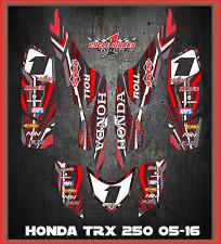 TRX 250ex  graphics Honda 250 ex 06-up  ATV sticker kit  Service lightning