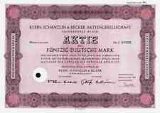 Klein Schanzlin Becker 1967  Frankenthal Pegnitz Nürnberg 50 DM KSB Pumpen AMAG