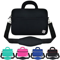 "Anti-Shock Slim 13"" 13.3"" Laptop Notebook Messenger Bag Carry Sleeve Case Cover"