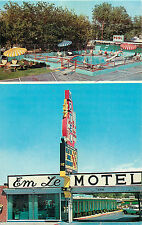 "LAS VEGAS NV EM LE MOTEL VIEWS ""ON STRIP"" CHROME P/C"