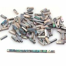 60Pcs Abalone Binding Inlay Strips for Guitar Mandolin Maker 1.5mm x 2mm x 7mm