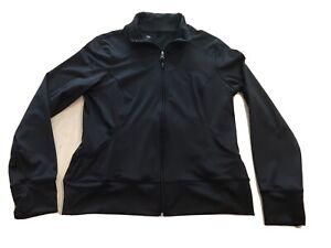 C9 by CHAMPION Womens Full Zip Jacket w/ Pockets -size Large L Black