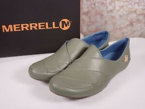 Merrell - Leather Slip-on Shoes Inde Lave - Vertiver - Select Size 7 or 10