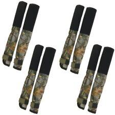 4 X Carp Rod Tip & Butt Protections Couvre deluxe pour pêche à la Carpe Tiges Camo NGT