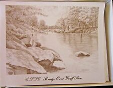Catskill Fly Fishing Center Bridge Over Wulff Run Boxed Note 10 Cards Envelopes