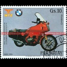 BMW R80 R100 RT ( R 80 100 ) 1980 PARAGUAY Timbre Poste Moto Stamp Stempel Sello