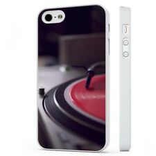 Vinyl Dj Turntable Music Records WHITE PHONE CASE COVER fits iPHONE