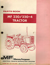 MASSEY FERGUSON 220 220-4  TRACTORS PARTS MANUAL