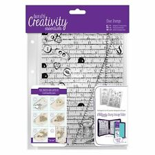 Haberdashery Background Clear Stamp Creativity Essentials by DoCrafts