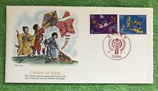 """Fdc Worldwide 1979 First Day Cover """" The World of Children """" & Free Gift"""