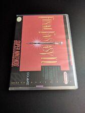 Final Fantasy II 2 Authentic Super Nintendo NRMT condition w Custom Case/