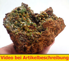5830 wulfenite mimetisit wulfenite mimetite Mapimi méxico specimen mineraux Movie