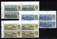 Alemania DDR serie completa en bloque de 4 año 1984  usada