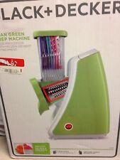 Black & Decker SL1050 Lean Prep Machine Food Processor Green NEW