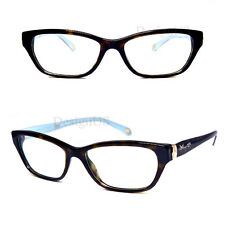46aca32fd8 TIFFANY   CO. TF2114 8015 Dark Tortoise Blue 53 16 140 Eyeglasses No