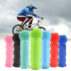 New Rubber Bike Handle Bar Grips For Kids Mini Maxi Micro Bike Tricycle Scooter