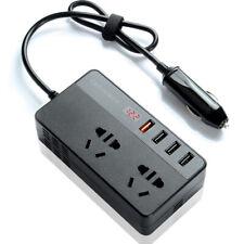 150W Car Power Inverter DC 12V To AC 220V 4 USB Charger Converter