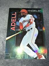 2020 Bowman Platinum Jo Adell 8/299 Green Parallel Top Prospect 2021 RC