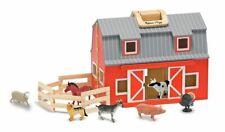 Melissa & Doug Fold and Go Wooden Barn 3700