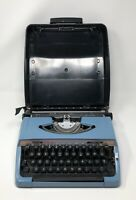 Vintage Brother Charger 11 Manual Typewriter With Caring Case Works Great Shape