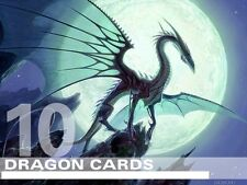MTG Dragon Lot - 10 Different RARE Cards - Magic Lot Set Collection EDH