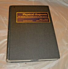 1973 BOOK PHYSICAL DIAGNOSIS HISTORY AND EXAMINATION OF PATIENT JOHN PRIOR 4THED