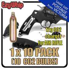 BB GUN RIFLE CHARGERS 12G CARTRIDGE X 10 AIRSOFT CARBON DIOXIDE BULBS CO2