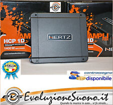 Hertz HCP 1D Amplificatore MONO x Subwoofer Classe D 1400 W con crossover Nuovo