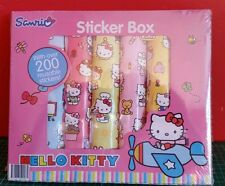 Hello Kitty 200 resusable stickers