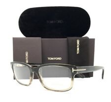 New Tom Ford Eyeglasses 5313 098 Green Horn 55•17•145 With Case