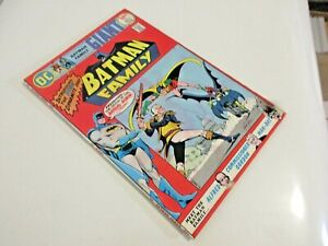 DC COMICS BATMAN FAMILY # 1 1975 1ST ROBIN/BATGIRL TEAM UP! MIKE GRELL ART! NICE