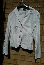 benetton ladies jacket size 10 white