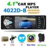 4022D 4.1 inch BT Car Stereo MP5 Player USB TF Card AUX FM Radio Head Unit