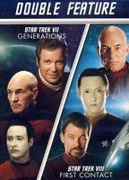 STAR TREK VII: GENERATIONS / STAR TREK VIII: FIRST CONTACT (DOUBLE FEATURE (DVD)