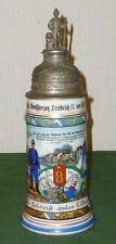 Antique Reservist Jug Regiment 8 Metz Alsace Pitcher Beer Stein Jugs France