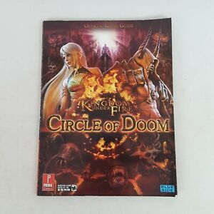 Kingdom Under Fire Circle Of Doom Official Prima Game Guide 2007 Blueside