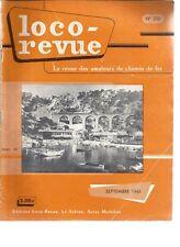 LOCO REVUE N°210 POSTE AIGUILLAGE HYDRODYNAMIQUE BIANCHI-SERVETTAZ / CRAMPTON