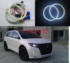 2pcs Excellent headlight SMD Angel Eyes Halo Ring angel For Ford Edge 2011-2013