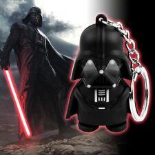 LED Star Wars Black Knight Darth Vader Action Figure with Sound Keychain Keyring