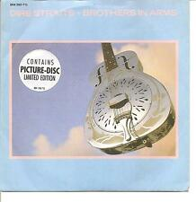 """DIRE STRAITS """"Brothers In Arms"""" 2 Track Picture 7"""" Vinyl Single"""