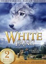 White Fang/Time of the Wolf/Legend of Wolf Mountain (DVD, 2013, 3-Disc Set) NEW
