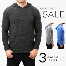 Alternative Apparel Marathon Hoodie Lightweight Pullover Tri Blend Heather Hoody