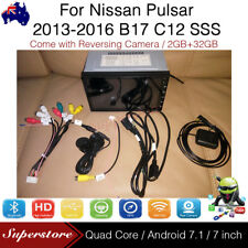 "7"" Android Car Media Player Head Unit Non-DVD GPS For Nissan Pulsar 2013-2016"